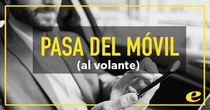 """Alternativas para """"pasar del móvil"""" al volante"""