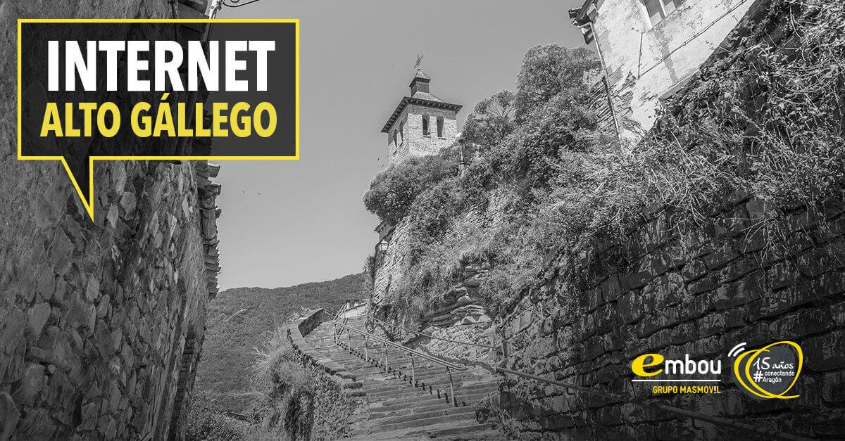 15 años conectando Aragón: ALTO GÁLLEGO