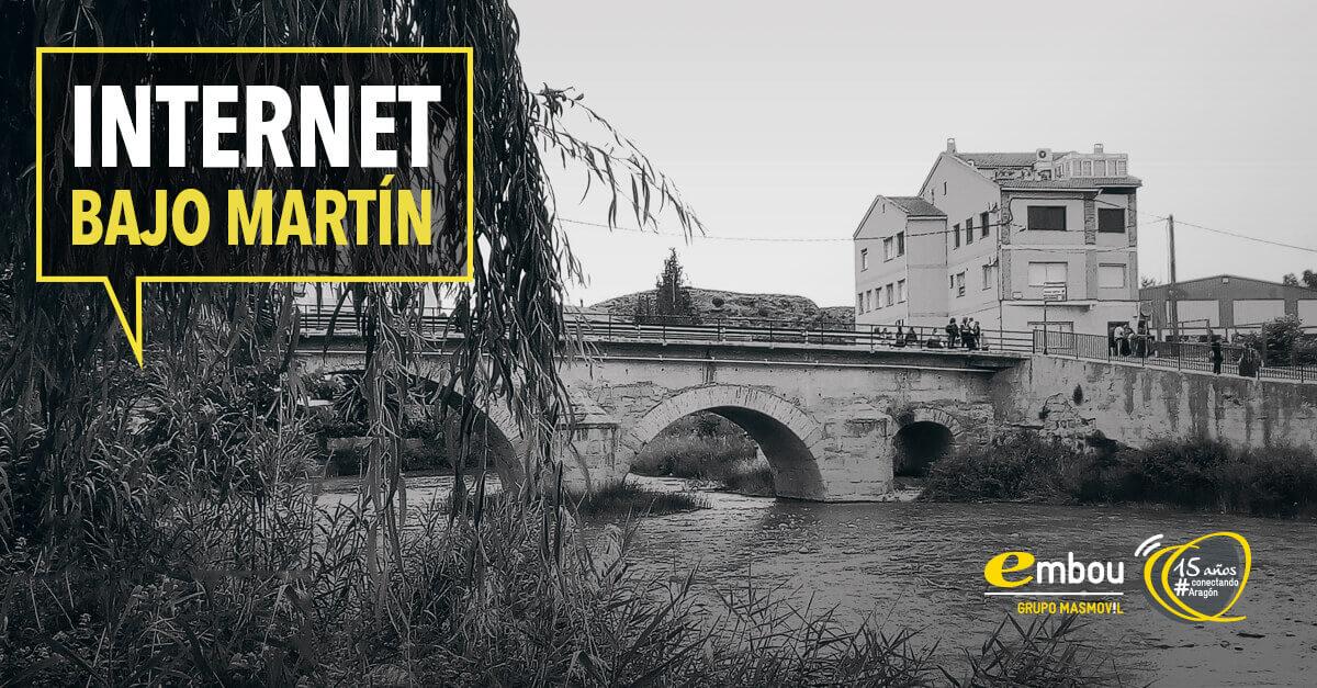 15 años conectando Aragón: BAJO MARTÍN