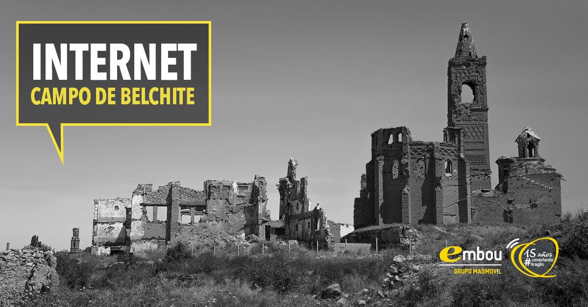 15 años conectando Aragón: CAMPO DE BELCHITE