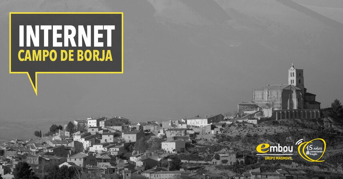 15 años conectando Aragón: CAMPO DE BORJA