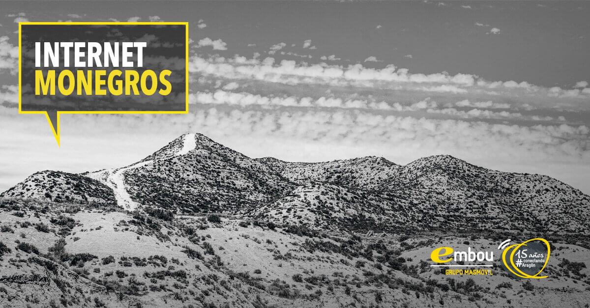 15 años conectando Aragón: MONEGROS