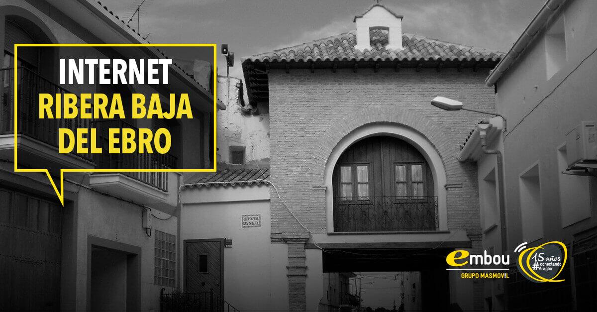 15 años conectando Aragón: RIBERA BAJA DEL EBRO