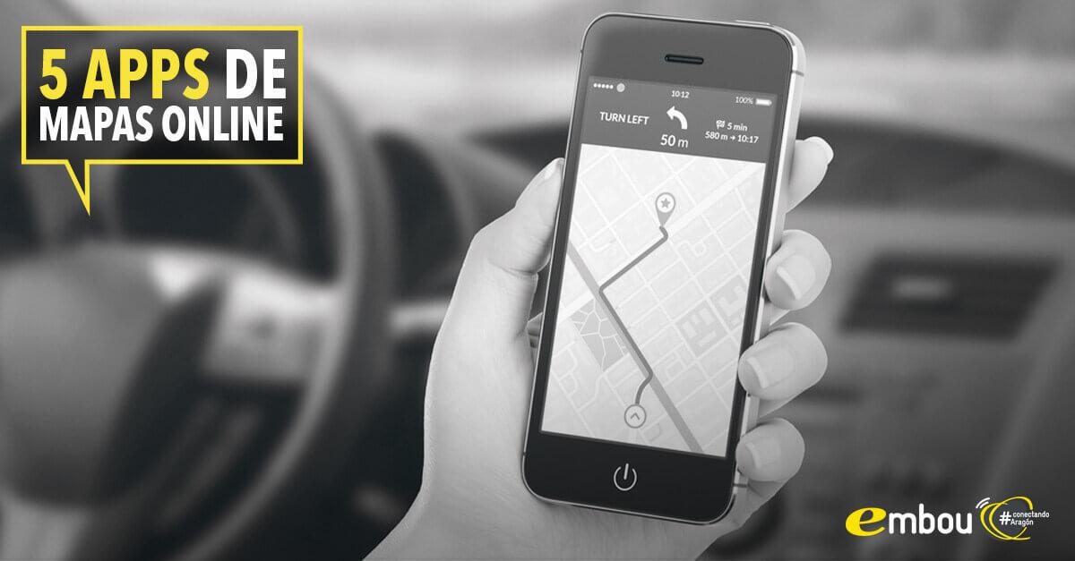 5 aplicaciones de mapas offline para navegar sin conexión