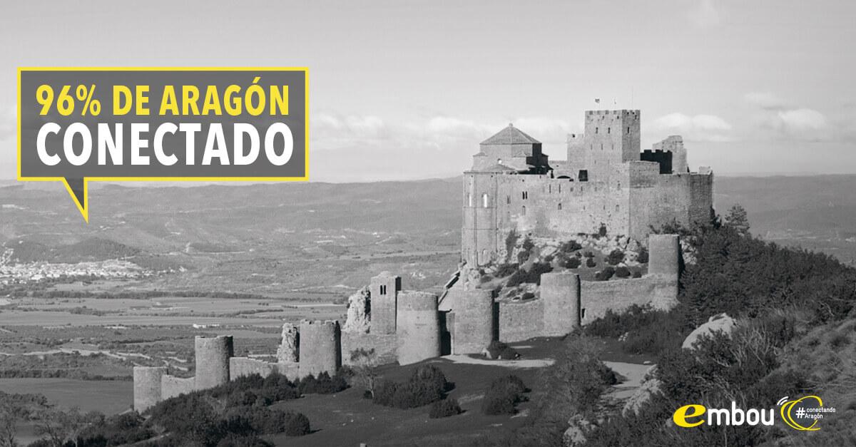 Aragón reduce el número de zonas rurales sin cobertura de banda ancha en un 97% en los últimos 4 años
