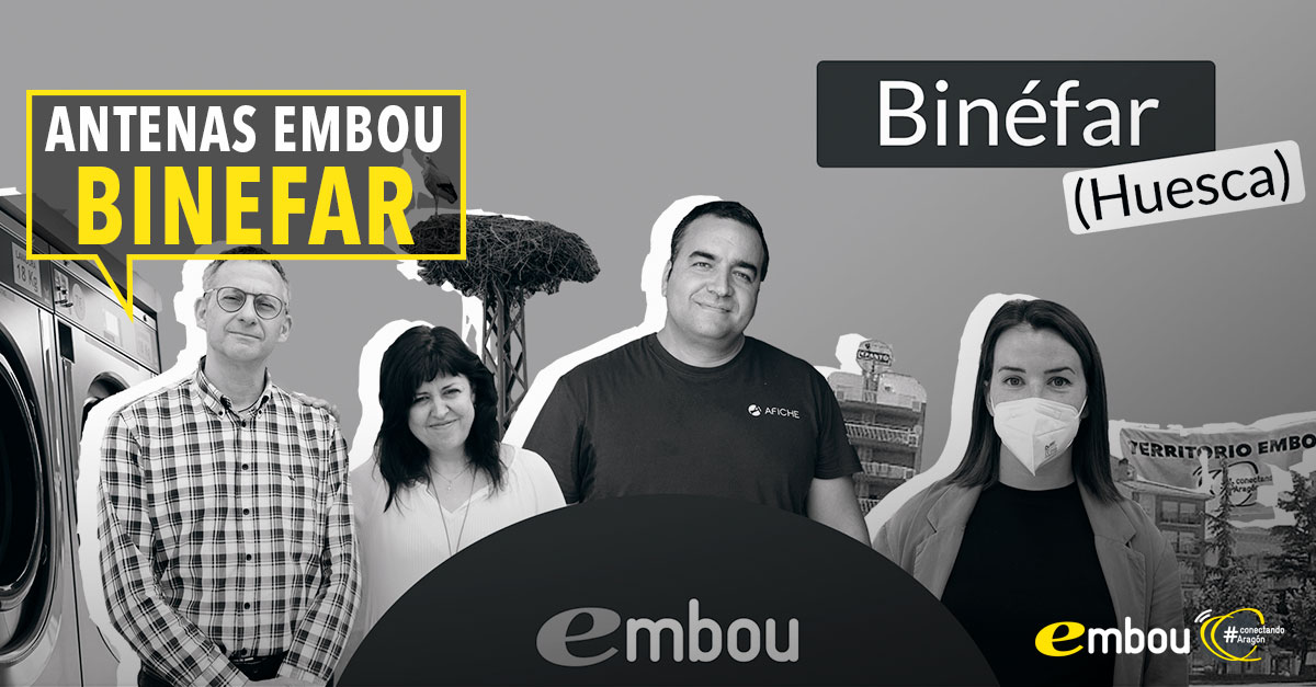 Binéfar más conectado con Embou