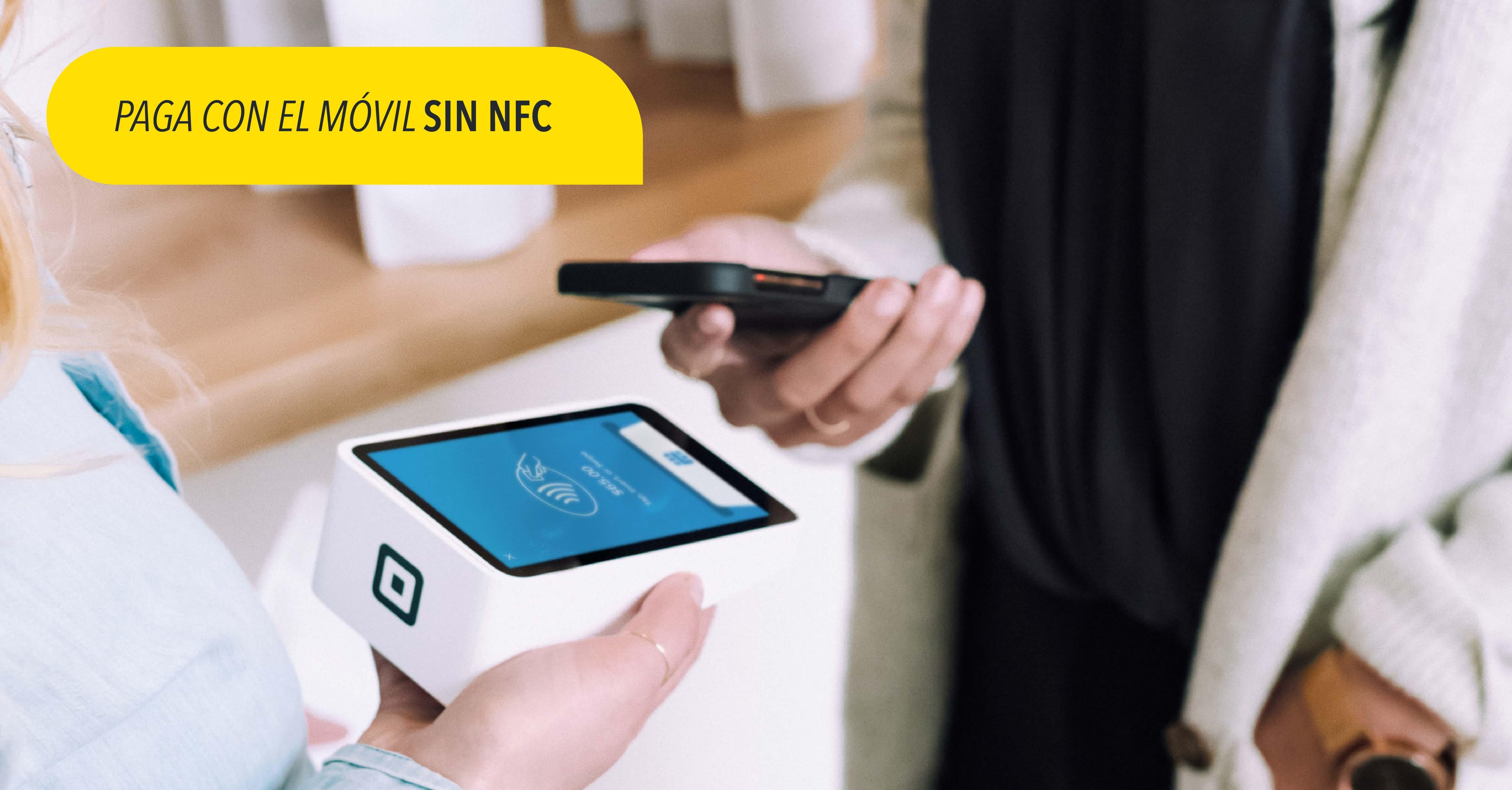 Cómo pagar con el móvil sin NFC