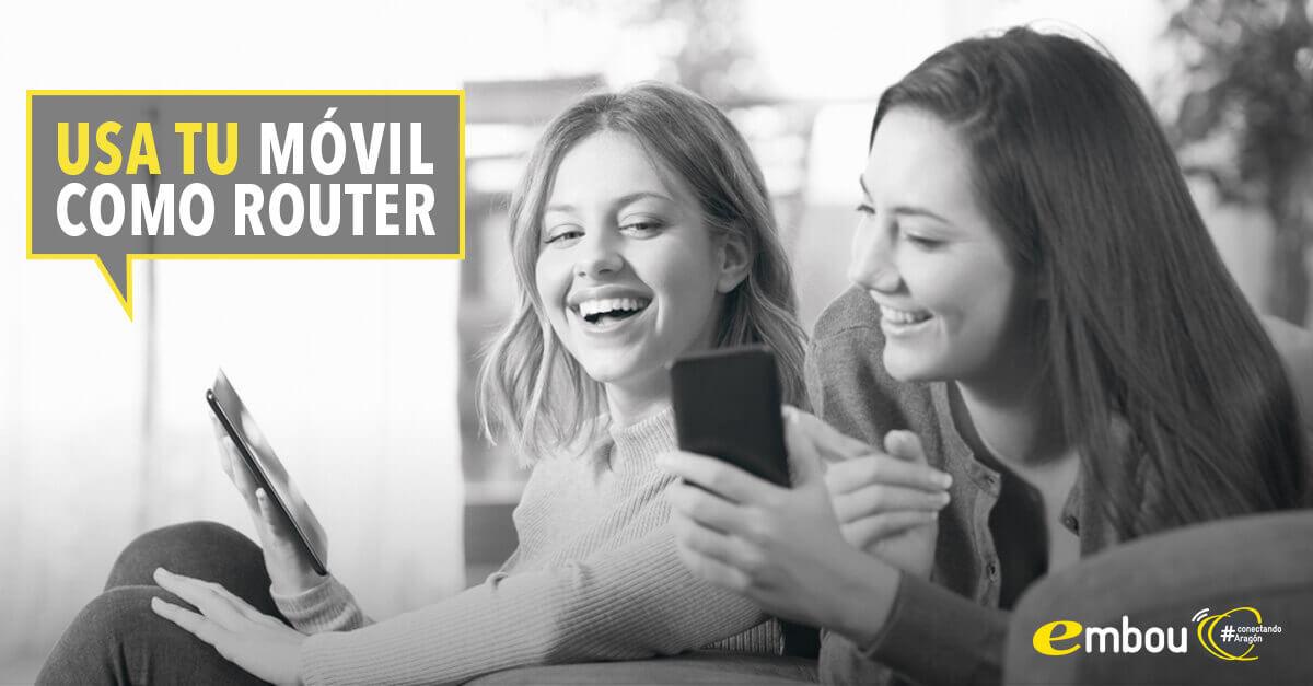compartir wifi Android y utilizar móvil como router