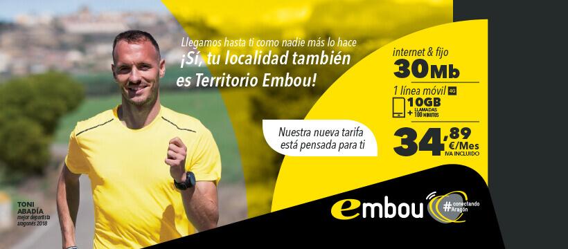 Nueva campaña junto al deportista aragonés Toni Abadía