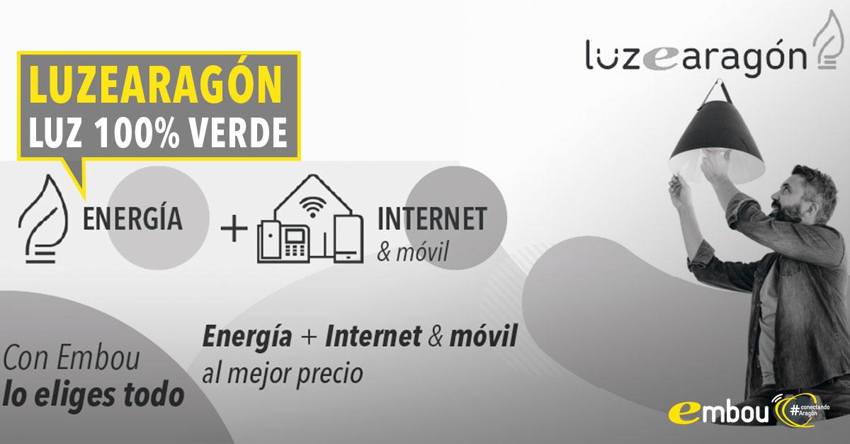 Pásate al lado de la energía verde con Luzearagón