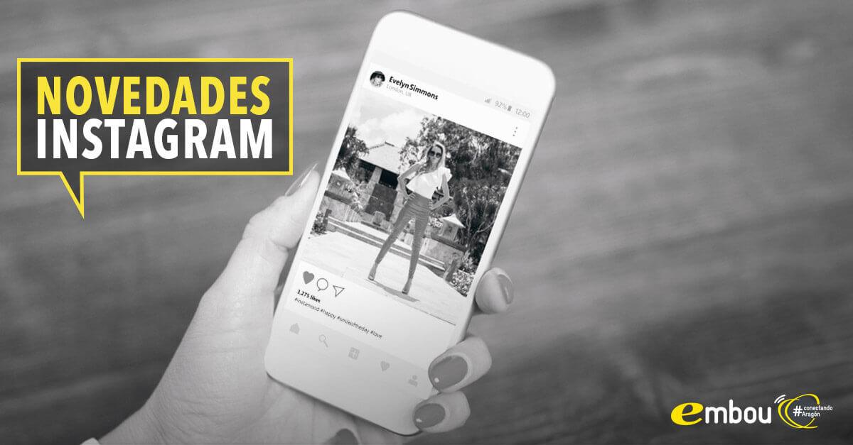 Novedades Instagram