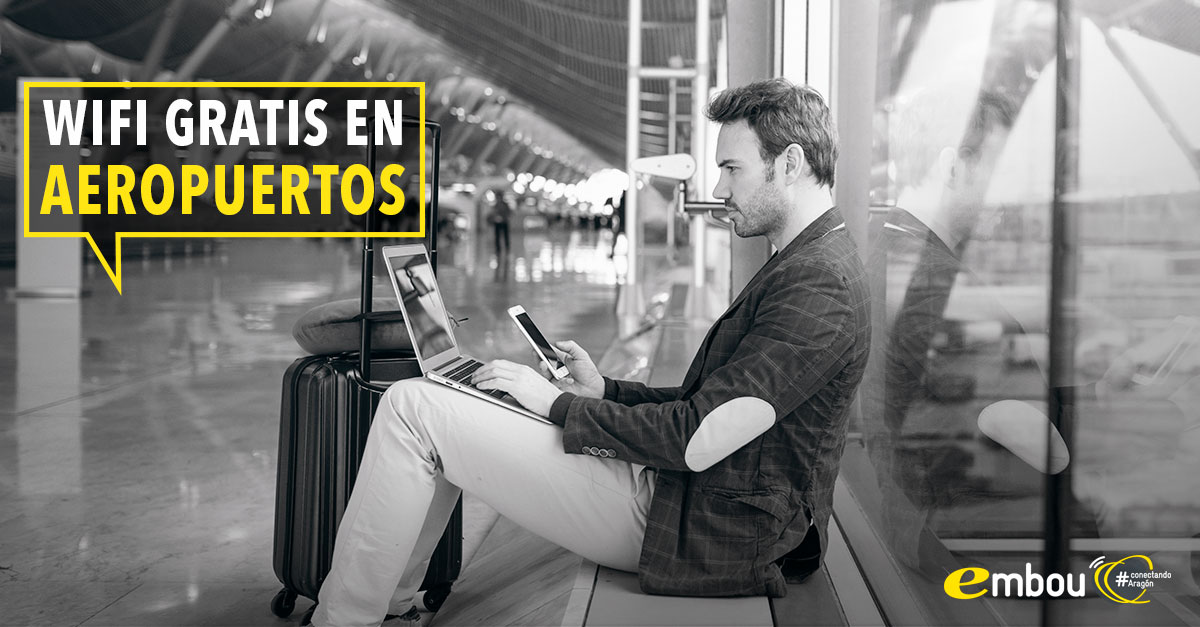 Wifi gratis en los aeropuertos