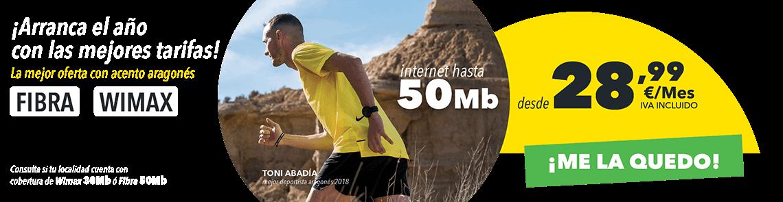 Tarifa Internet Wimax -¨Internet en casa 30Mbps por solo 28,99 €/mes IVA incluido.